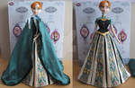 Frozen Anna Coronation custom dress
