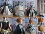 Frozen Anna Coronation custom dress details