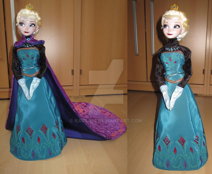 Elsa dress coronation pictures