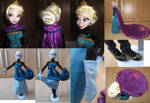 Frozen Queen Elsa coronation dress - details