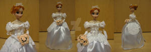 Anna - Once Upon A Time - Wedding Dress
