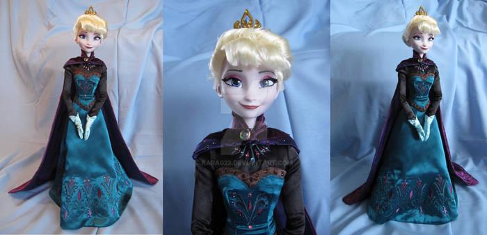 Frozen - Coronation Elsa repaint ooak