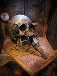 Steampunk skull -experiment 68