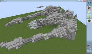 Stealth ship by kielaran