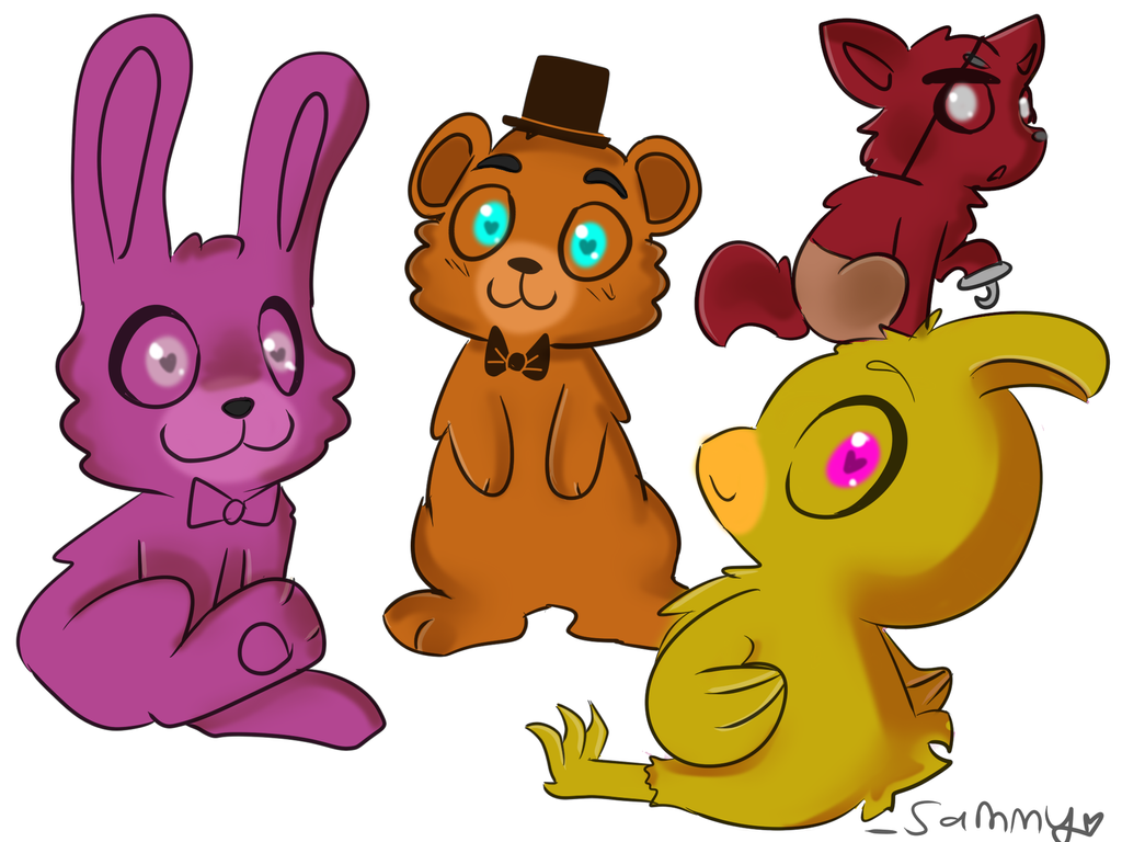 Five nights at freddy s by wolfsam on deviantart