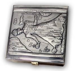 MAP OF EUROPE BOX