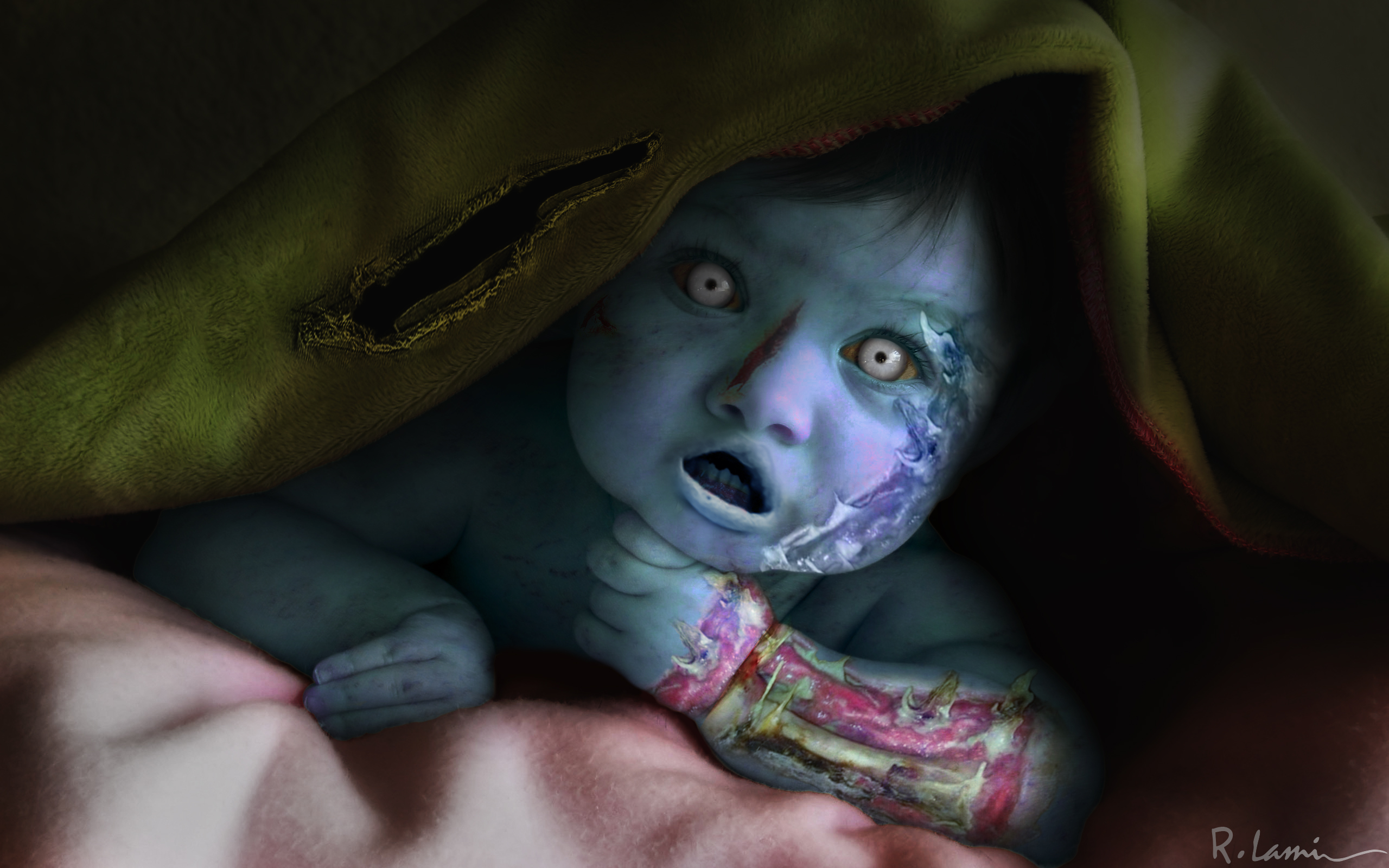 Zombie Baby by robsonlami on DeviantArt