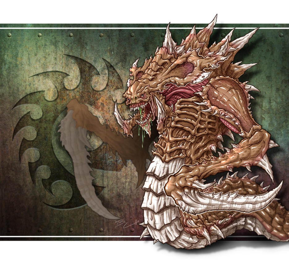 Zerg Hydralisk by TK2397