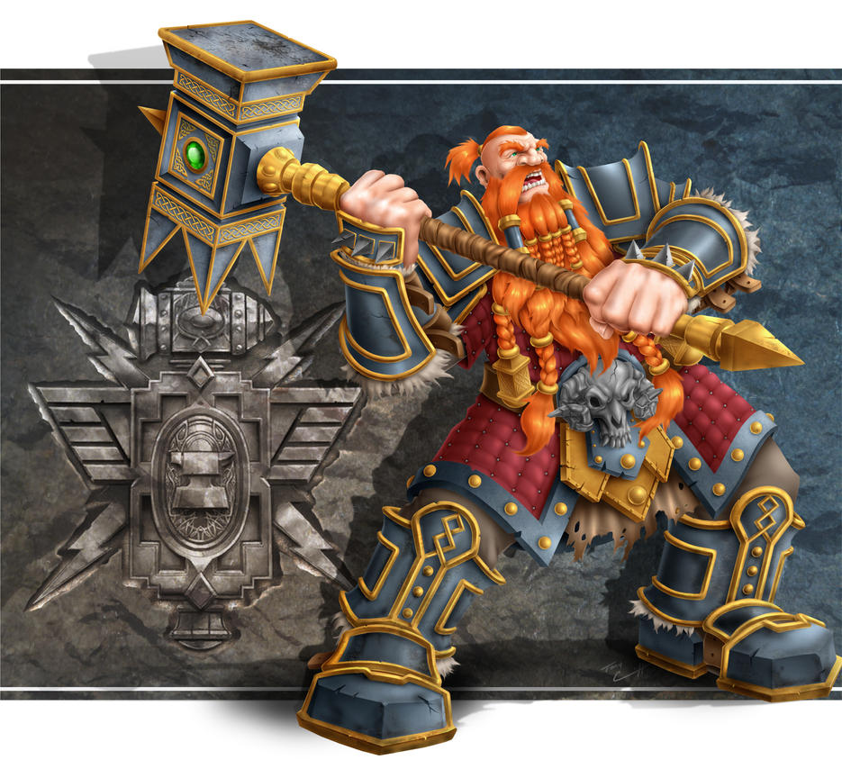 Dwarf Warrior by TK2397