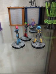 Havoc Girls from Effigy Miniatures