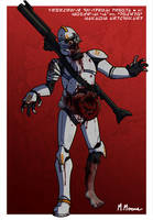 Infected Clone Trooper by Moemoore