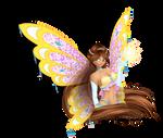 [WC] Gift: Lucy Enchantix CGI by AshianaAquaris