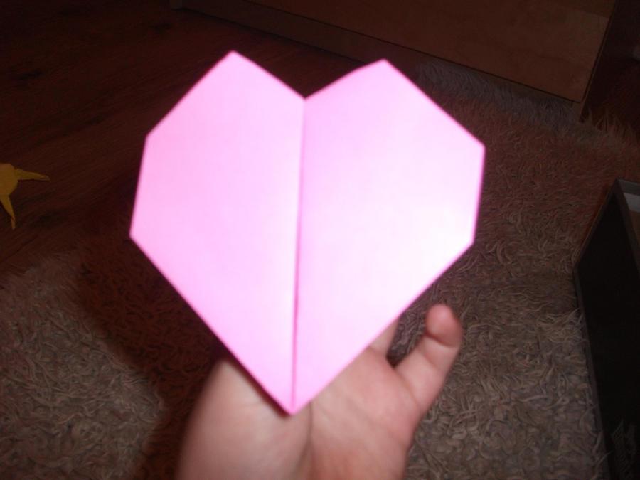 Origami Beating Heart By Wolfyattitude On Deviantart
