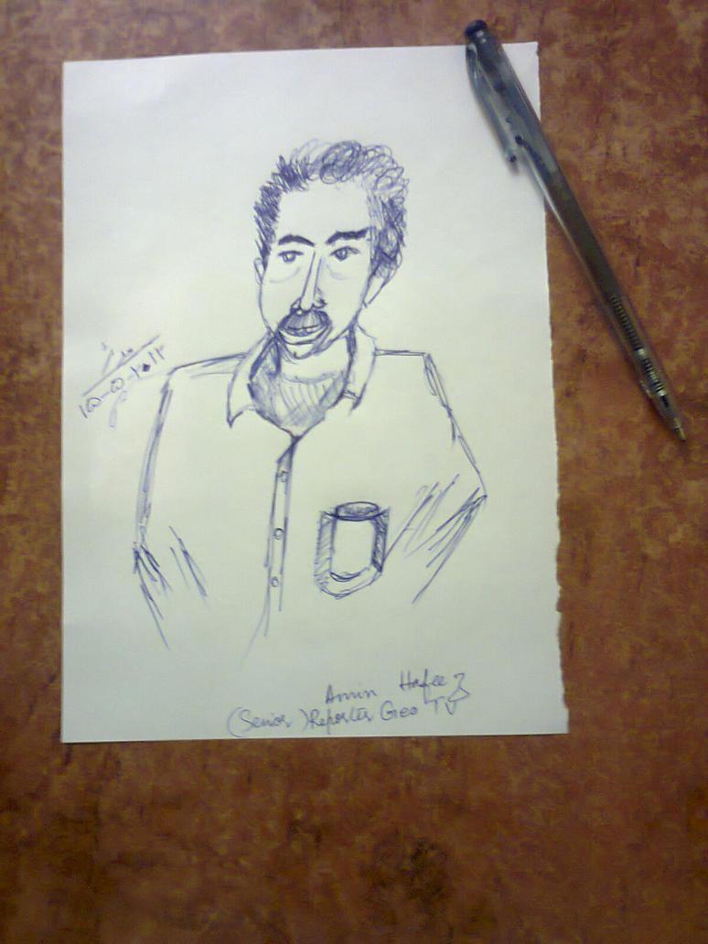 AMIN HAFEEZ 2 min Sketch by kalabadi-hallaj