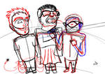 Painda Teenda Group Sketch