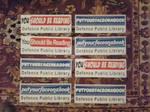 DHA Libray Bumper Stickers