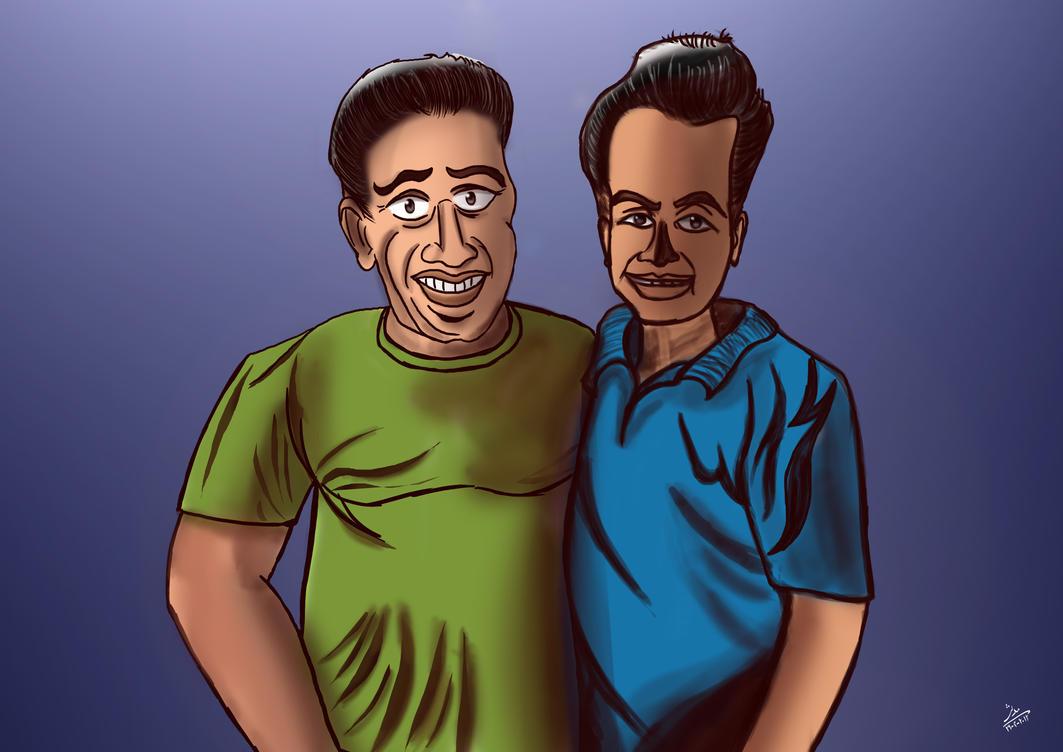Shiki and Junaid by kalabadi-hallaj