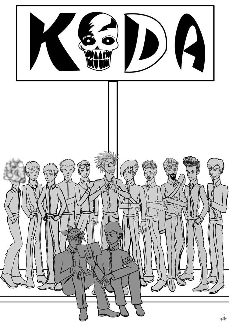 The KODA boys by kalabadi-hallaj