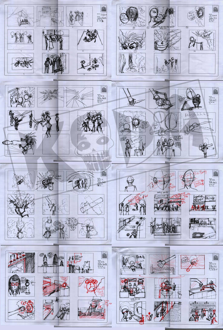 KoDa Part 01 StoryBoards by kalabadi-hallaj