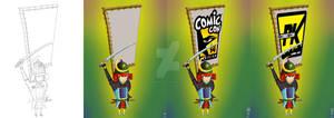 Comic Con Mascot 02
