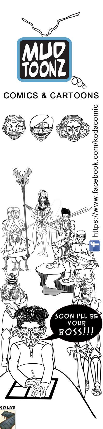 Mudtoonz Comics and Cartoons by kalabadi-hallaj