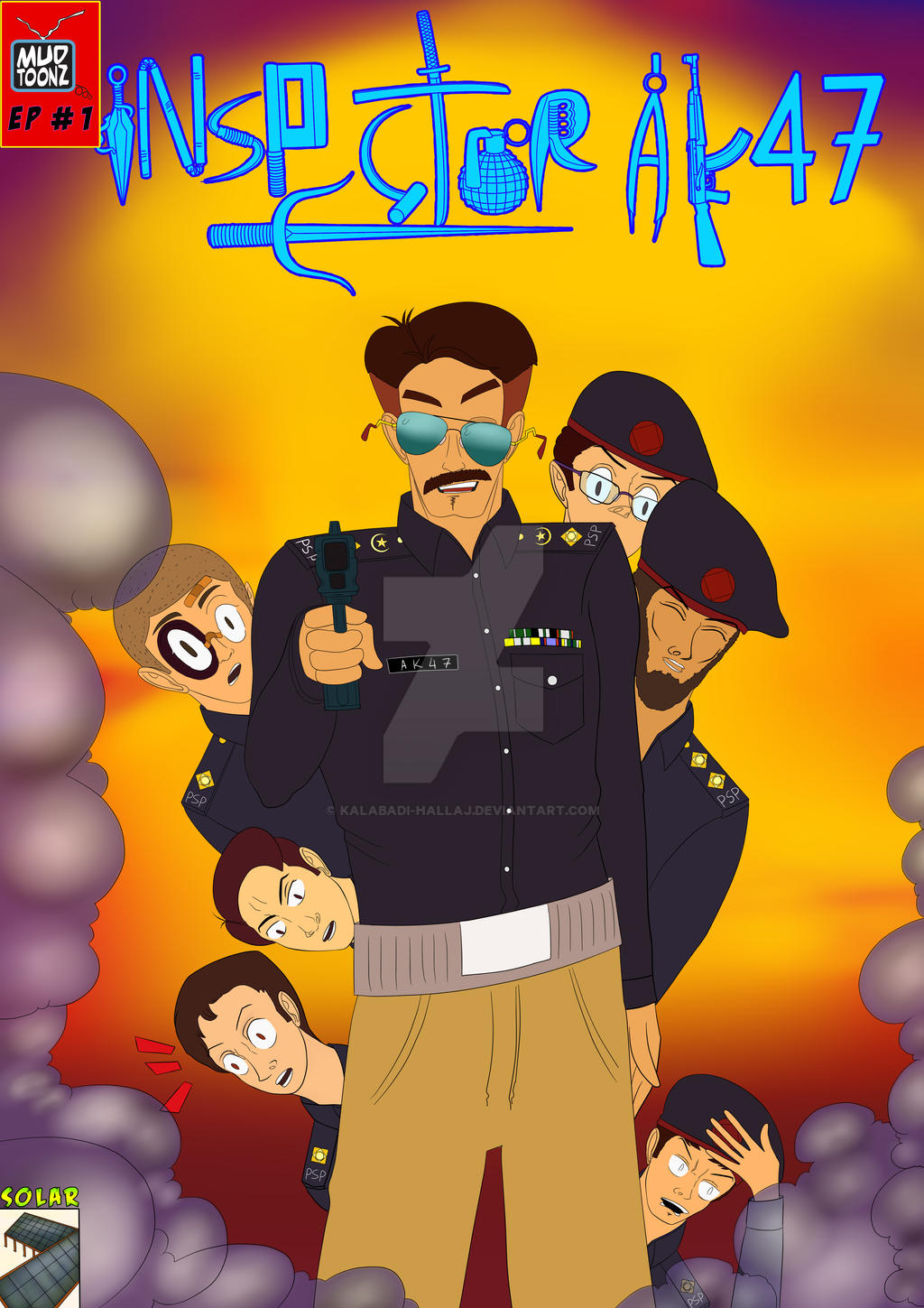 Inspector AK47 Cover EP c01