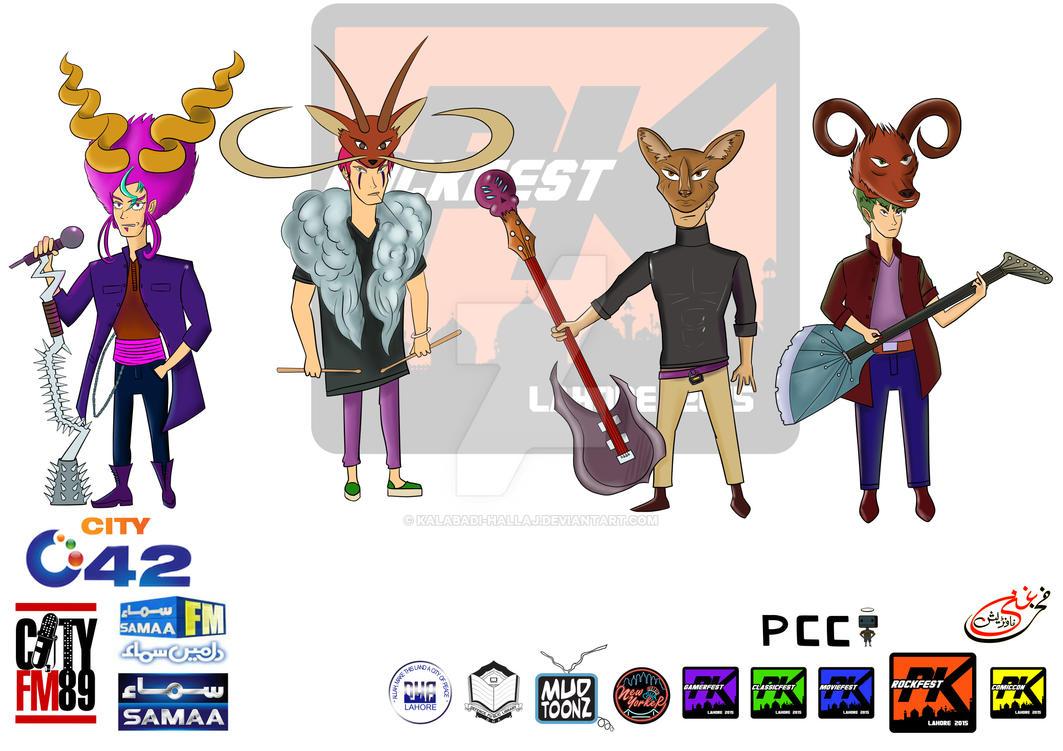 Metal Fest PK Concept 03 by kalabadi-hallaj