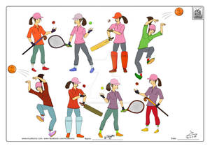 Sporty Character