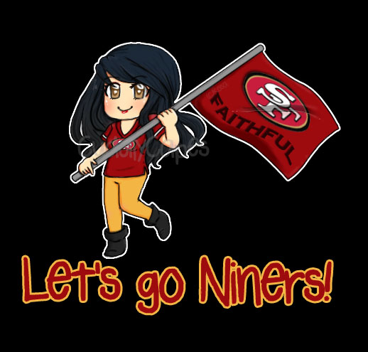 Lets go 49ers by cuddlycapes on deviantart lets go 49ers by cuddlycapes voltagebd Choice Image