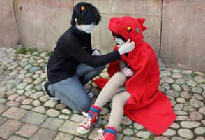 Terezi and karkat by Doomega