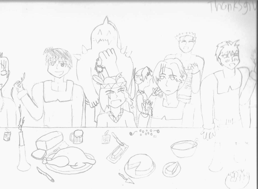 Thanksgiving FMA by fullmetalfan2