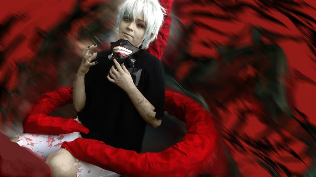 Kaneki Ken - photoshop by fullmetalfan2