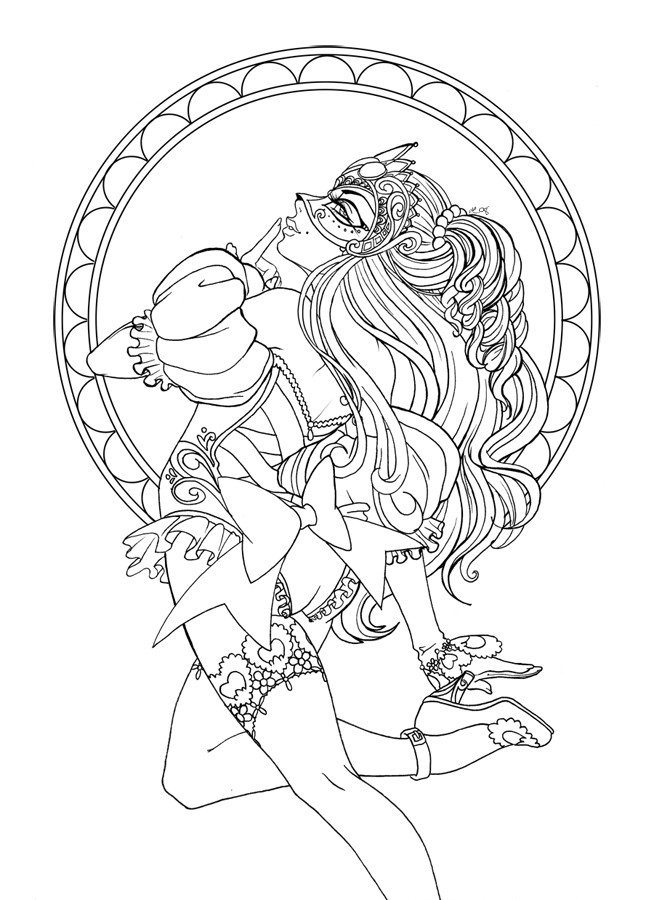 Adult Coloring Pages Grafic Sex