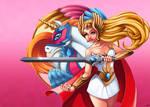 The Princess of Power by DigiAvalon