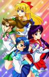 Fan Art: Sailor Moons Scouts 1