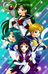 Fan Art: Sailor Moons Scouts 2