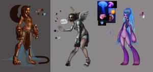 3d character idea's