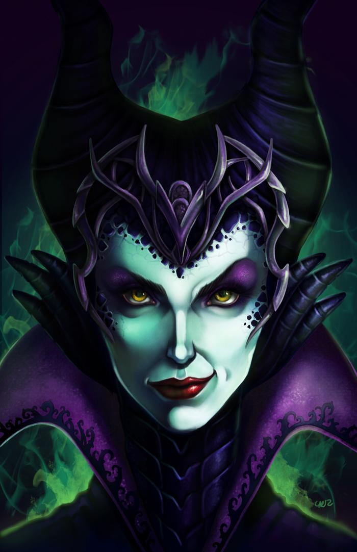Maleficent by DigiAvalon on DeviantArt
