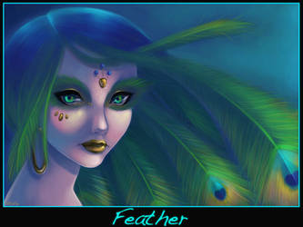 +Feather+ by DigiAvalon