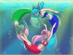 RGB Little Mermaids