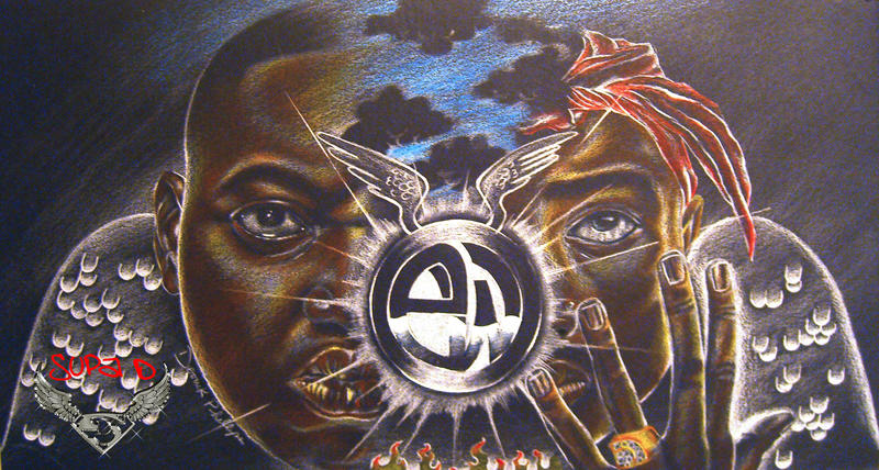 2pac and Biggie by SupaD1 on DeviantArt