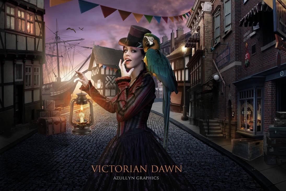 Victorian Dawn by Azullyn