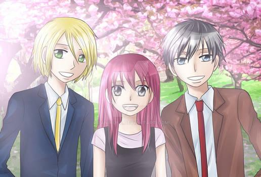 Teen years: Soren, Noemi, Blade