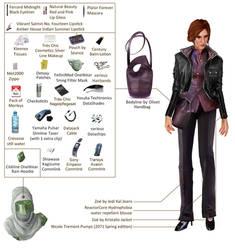 Tara, civilian clothes II Loadout
