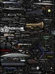 Size Comparison - Science Fiction Spaceships