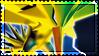 Pokemon Zapdos Stamp