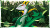 Pokemon Serperior Stamp by Captain-Chompers