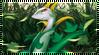 Pokemon Serperior Stamp