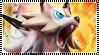 Pokemon Lycanroc Stamp