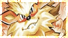 Pokemon Arcanine Stamp by Captain-Chompers